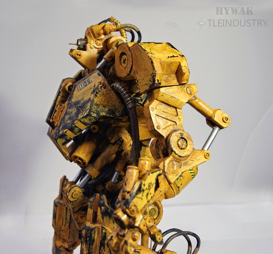 HYWAK - Advance Hydraulic Walker Mech Model