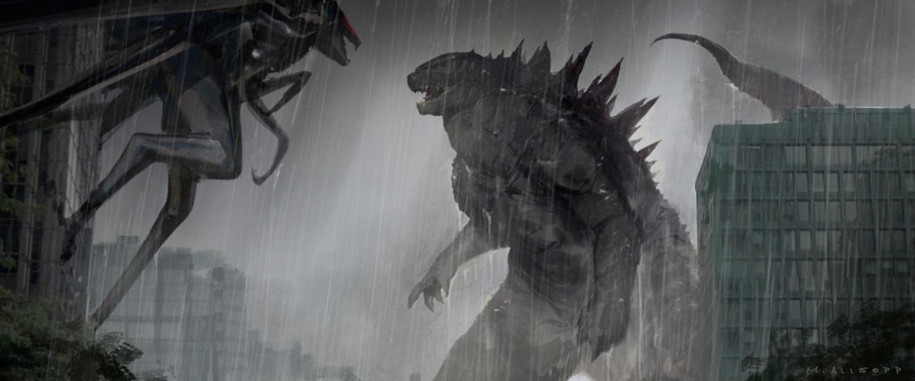 Godzilla Concept Art by Matt Allsopp