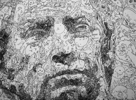 Intricate Detailed Ink Drawings - Sagaki Keita
