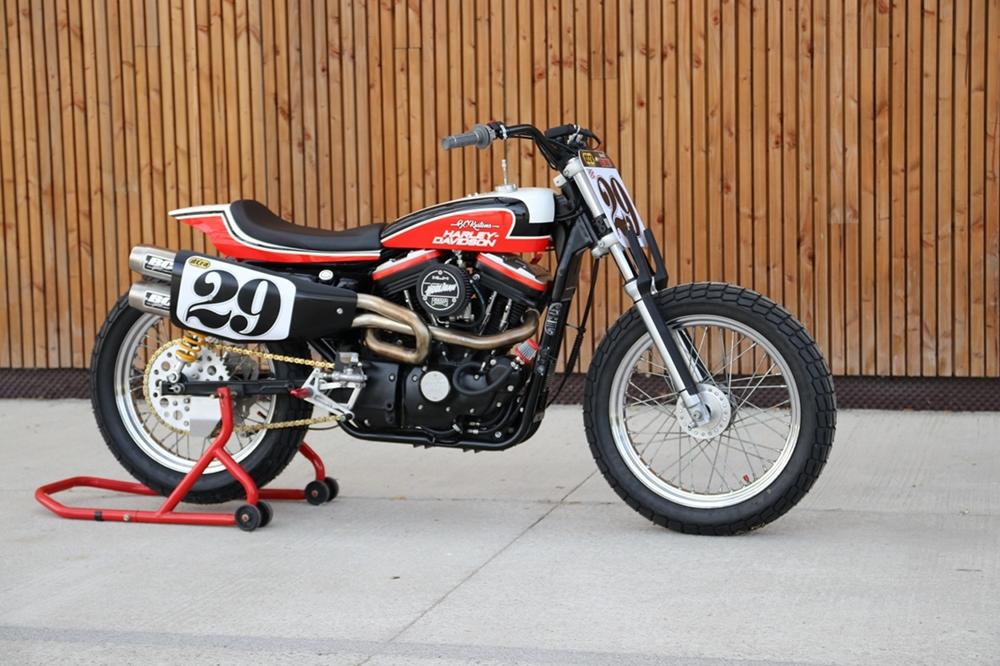 BCKustoms: Флэт-трекер Harley-DavidsonSportster Hooligan