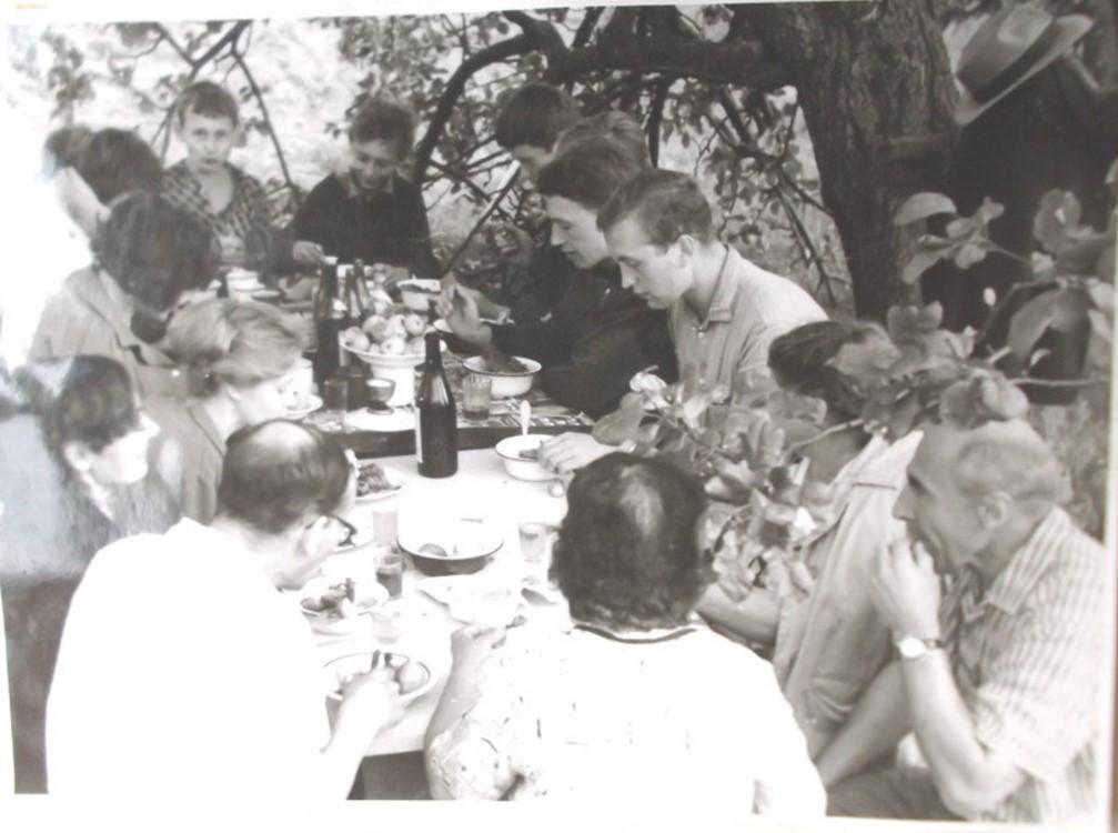 Яблочный Спас. Деревня Гашково, Псковская область. 19.08.1967
