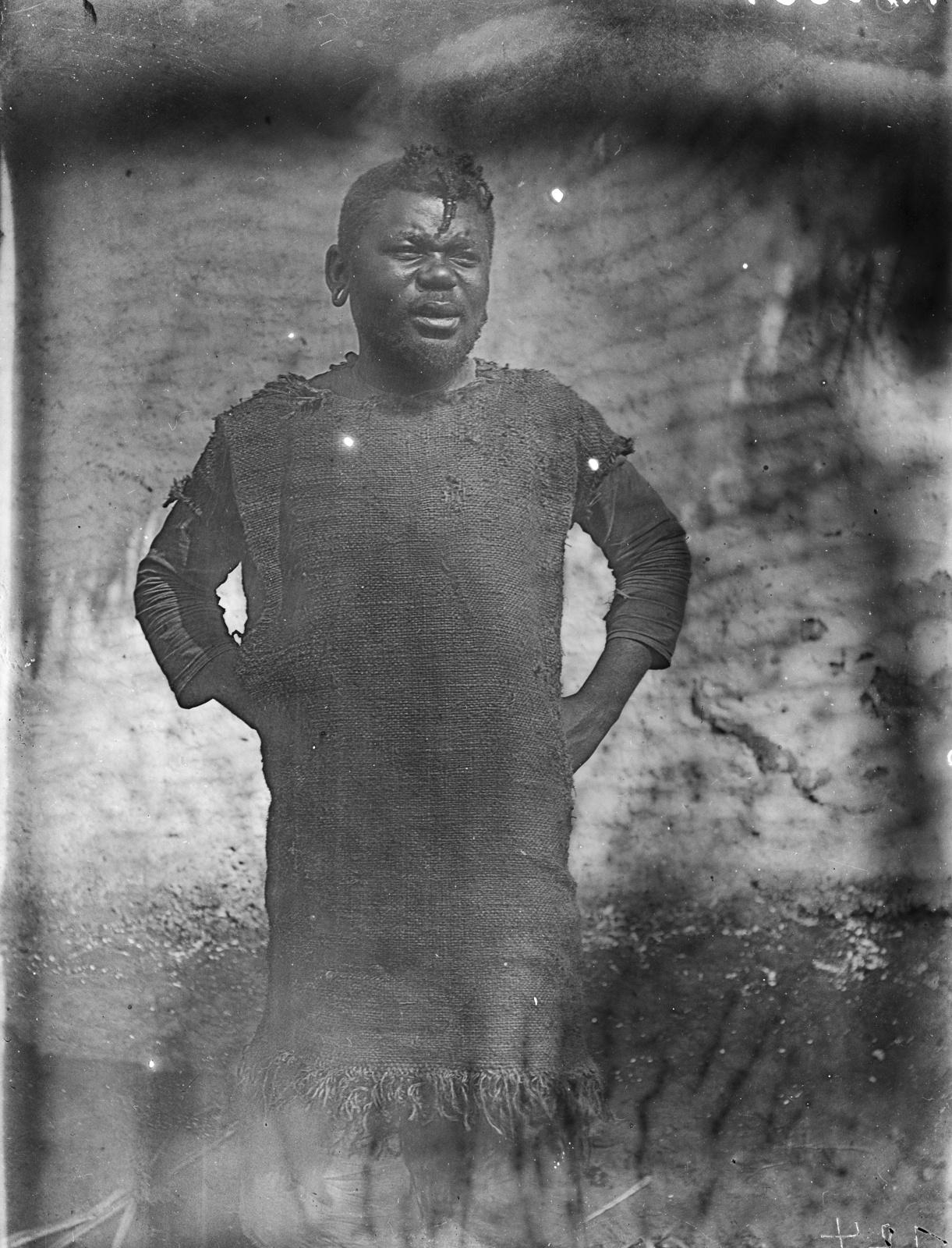 48. Портрет человека народности ньямвези