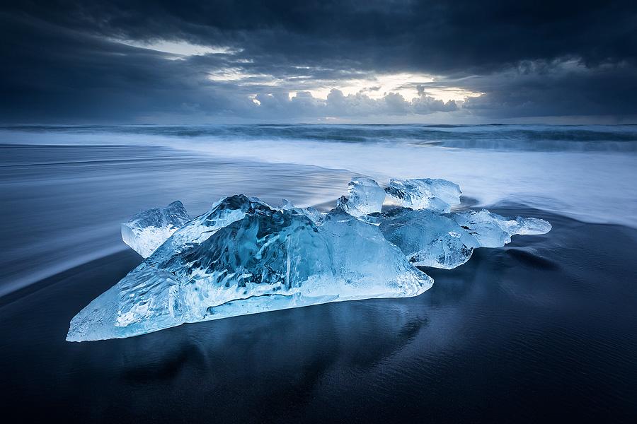 Зимняя Исландия на снимках Эреза Марома