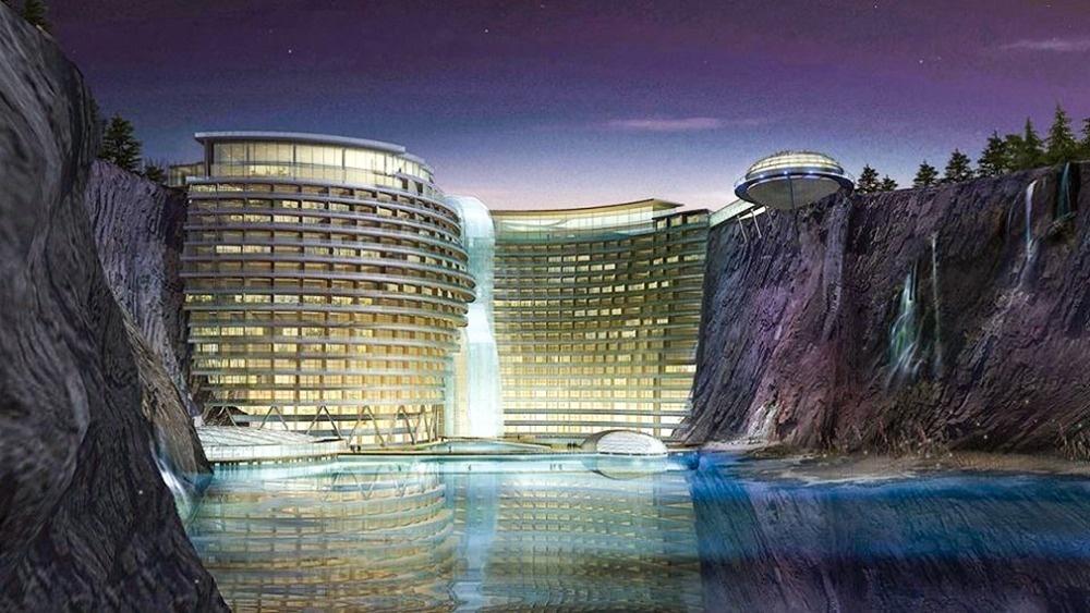© ArchJournal / Facebook  Shimao Wonderland Intercontinental— это новейший отель вШанхае. Ар