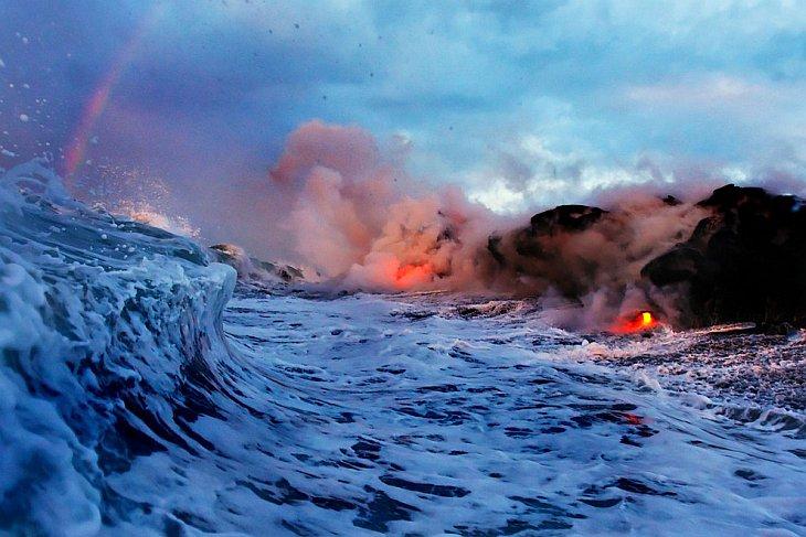 В парке можно увидеть уникальный результат тысячелетней вулканической активности и других про