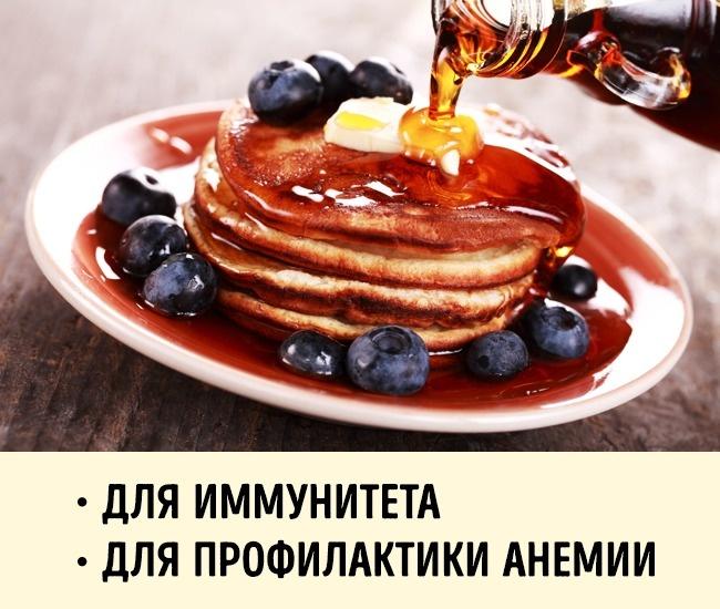 © depositphotos.com     Благодаря содержащимся внем антиоксидантам, кленовый сироп помог
