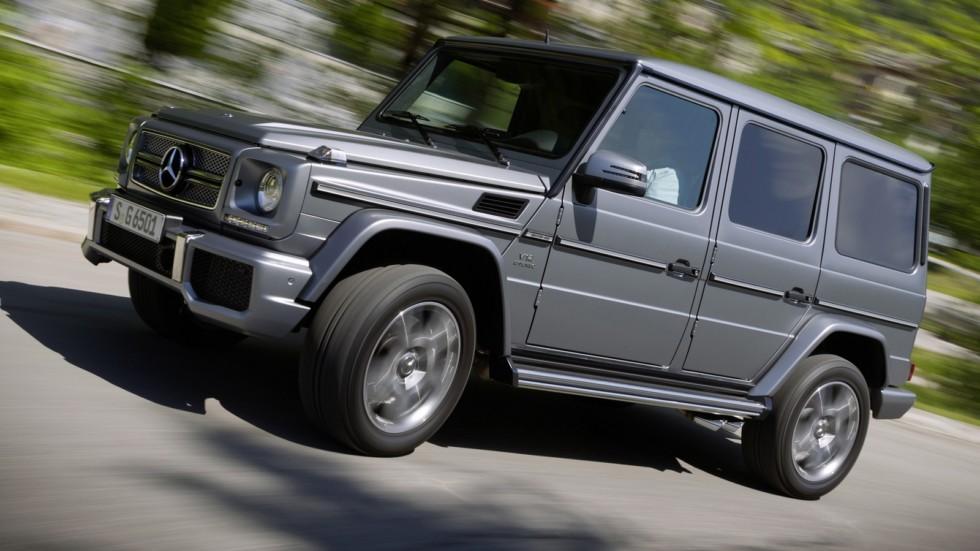 На фото: Mercedes-Benz G 65 AMG '2012–15    С ним невозможно задружиться: вы либо обмякае