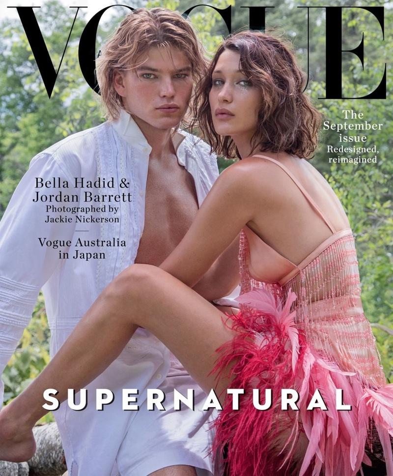 Белла Хадид для кавер-стори австралийского Vogue (10 фото)