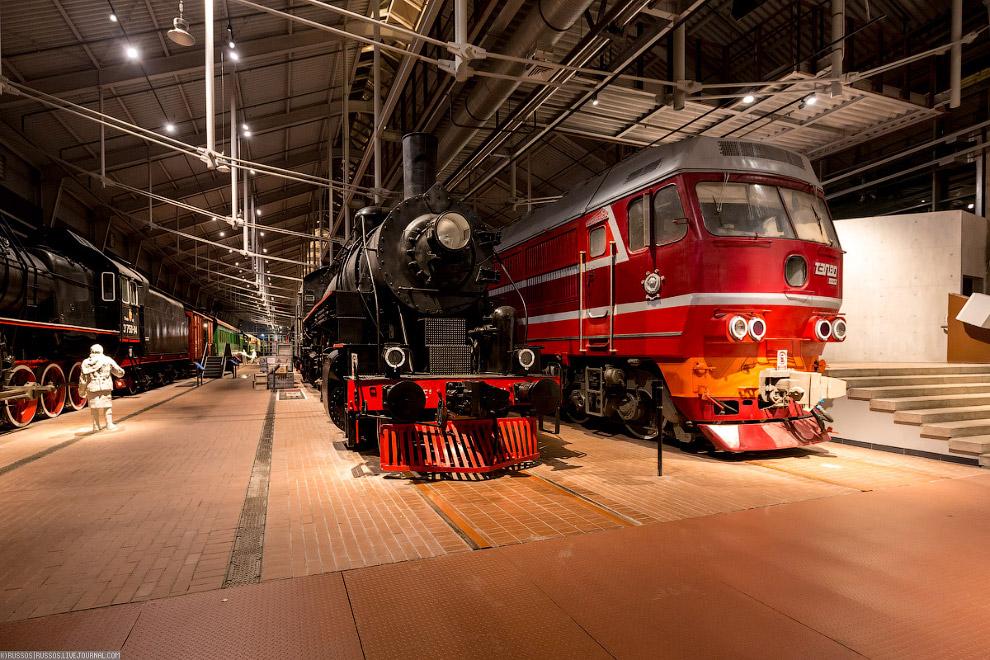 34. Именно этому локомотиву принадлежит рекорд скорости для тепловозов. На октябрьском ходу 5 октябр