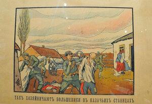 Так хозяйнячиют большевики в казачьих станицах