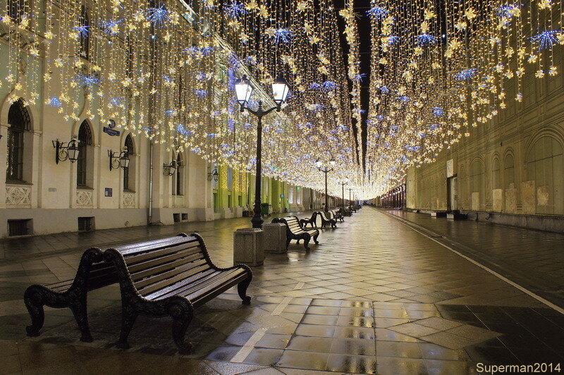 Новогодняя Москва 2017-2018 (Часть-2)