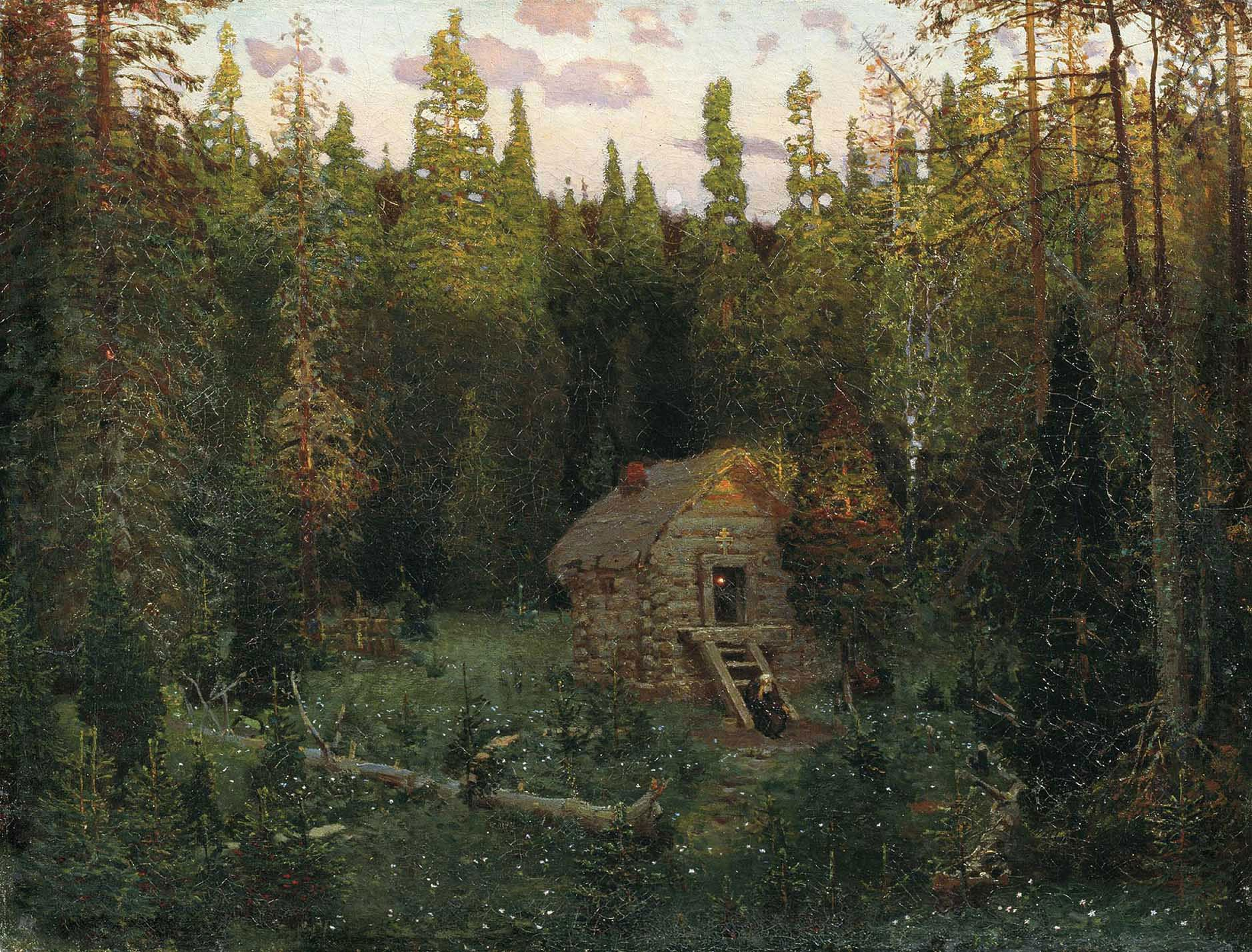Аполлинарий Васнецов Скит, 1901 год..jpg