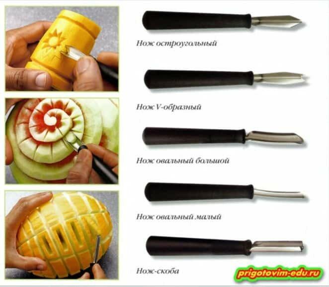 Карбовочные ножи для карвинга