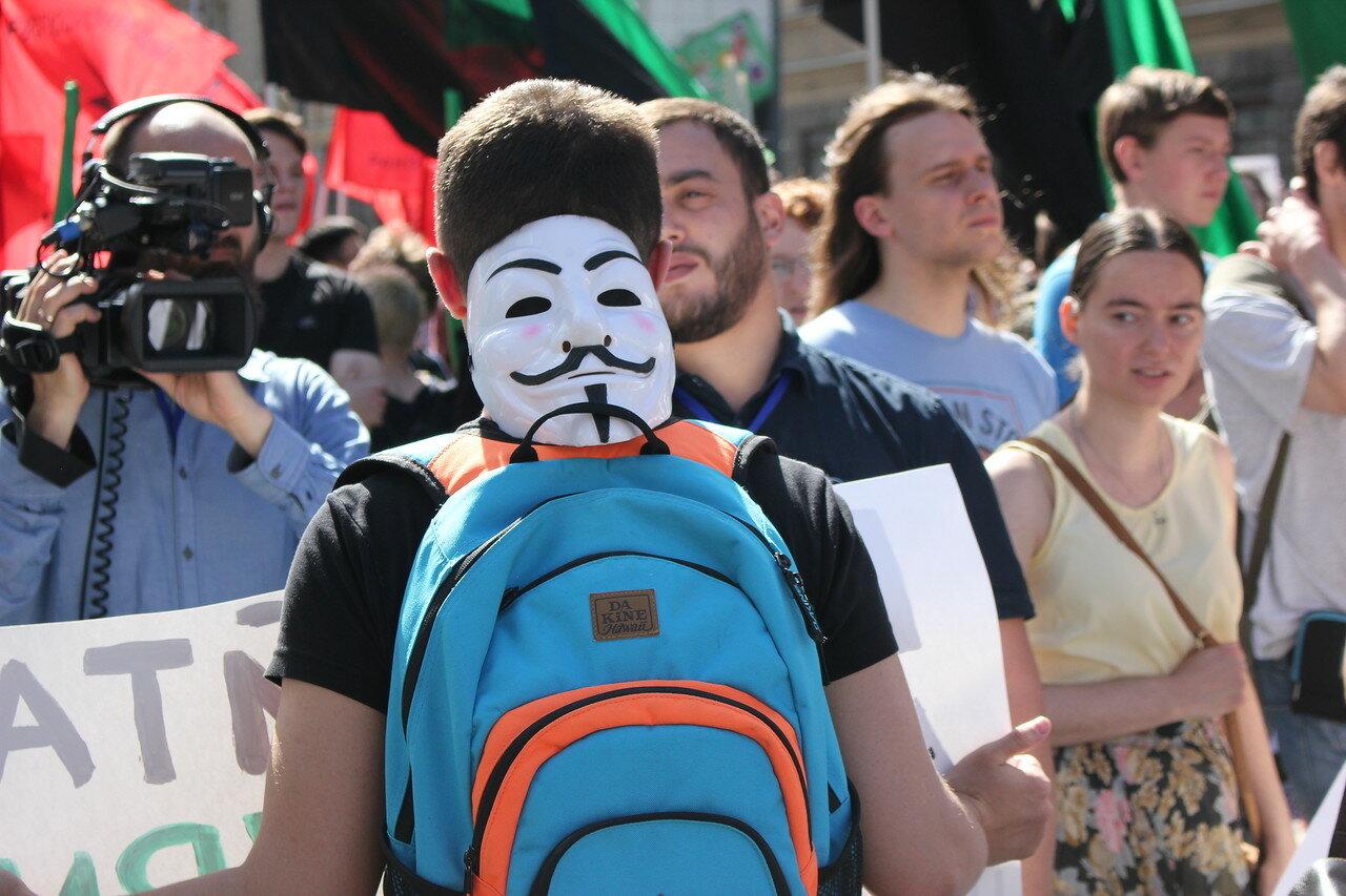 Марш за свободный интернет