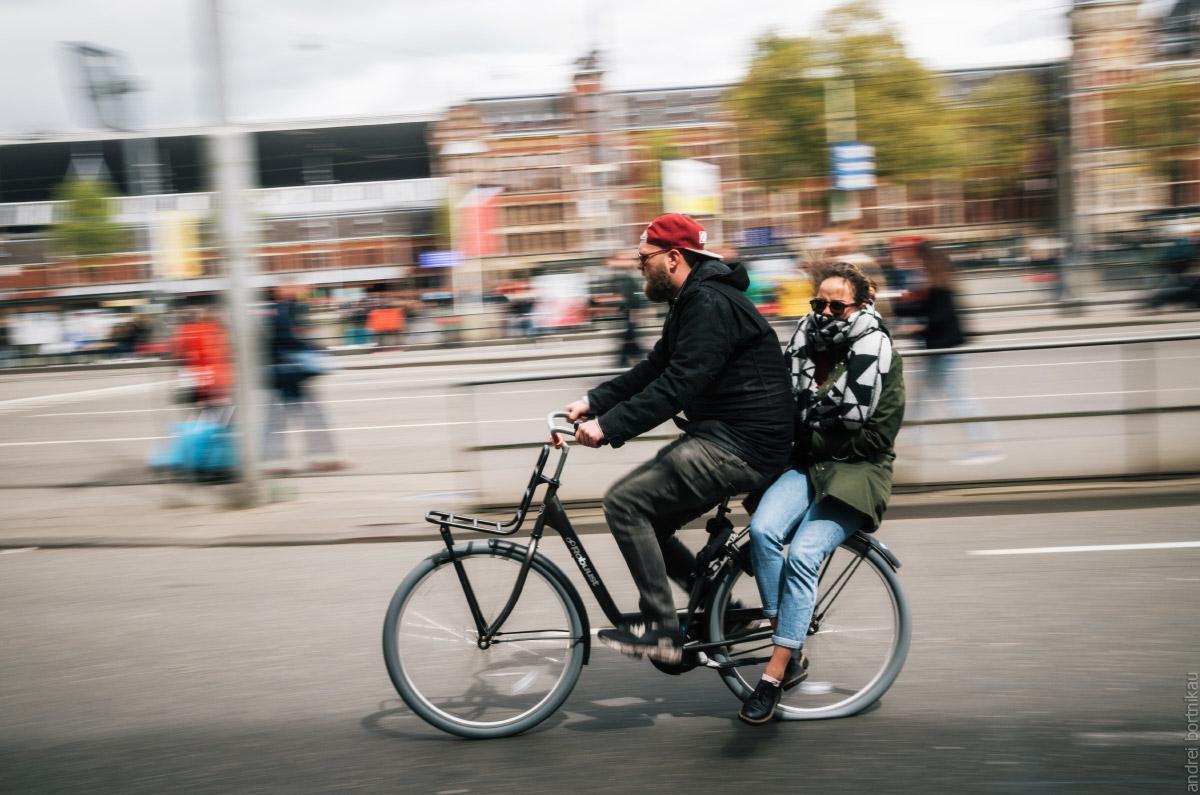 В Нидерландах велосипедов больше, чем жителей
