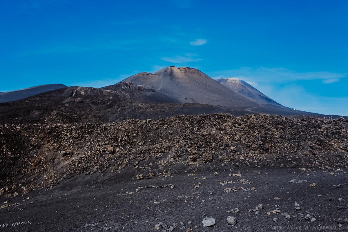 Италия: Вулкан Этна