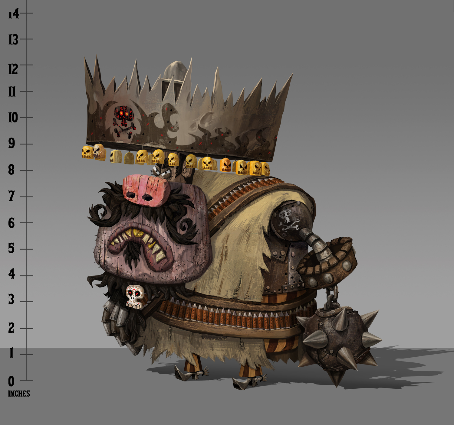 The Book of Life Concept Art by Travis Koller