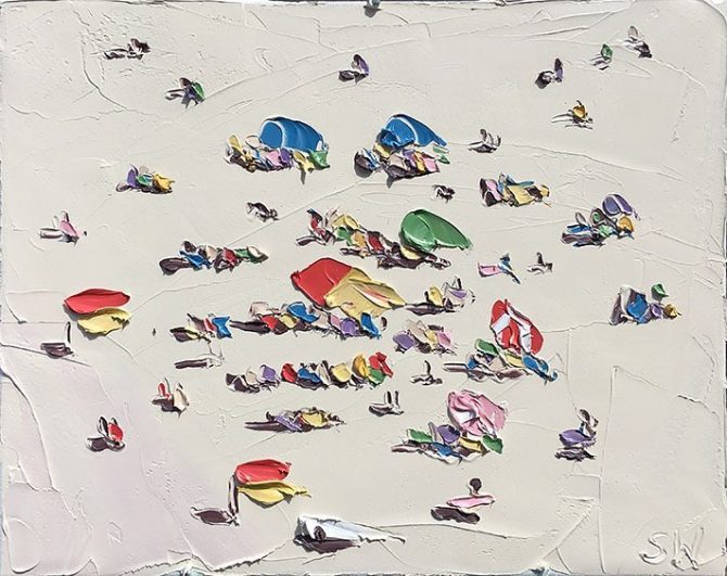 Sally West's Beach Paintings