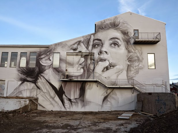 Gigantic Wall Portraits (10 pics)