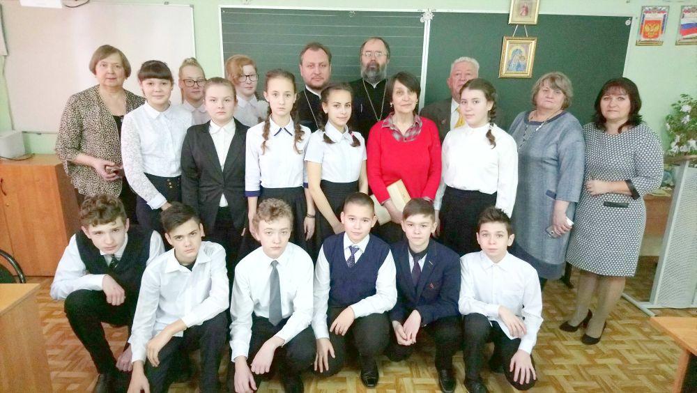 15 декабря в стенах Ярцевской средней школы №4 имени Героя Советского Союза О. А. Лосика прошли Декабрьские встречи