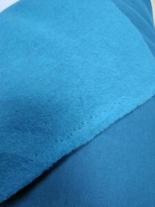 Футер 3-х нитка КОМПАКТ ПЕНЬЕ с начесом 87% ХБ 13% ПЭ цвета: изумруд Плотность 320 гр/м2 Ширина 180 см Цена 470р/м