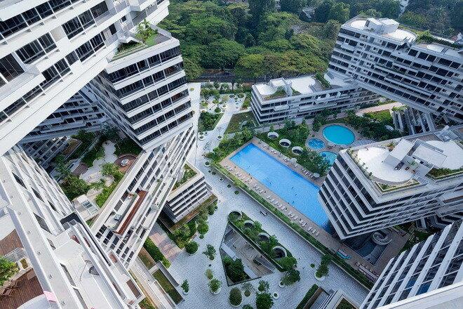 ЖК Interlace. Сингапур