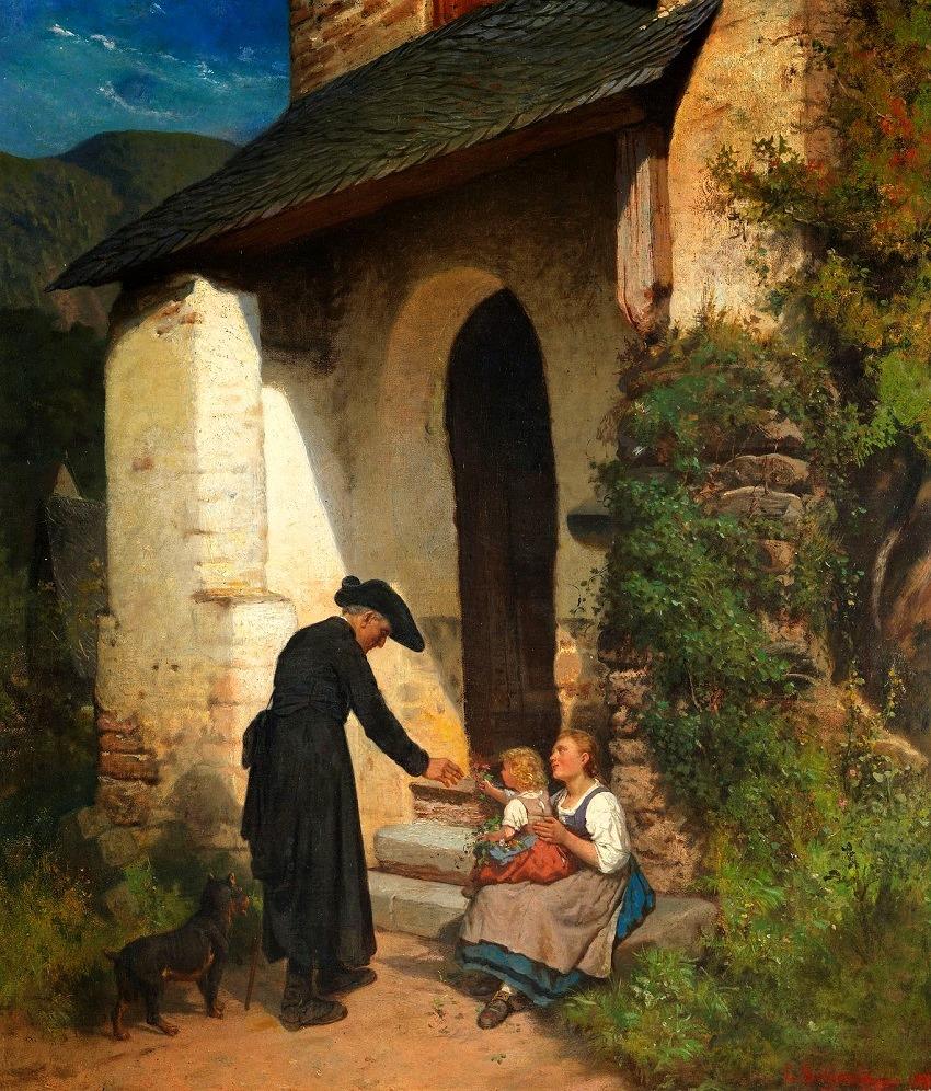A visita do pastor