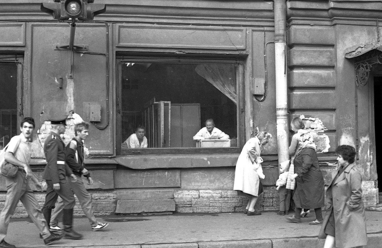 1970-е. Б. Зеленина. Петроградская