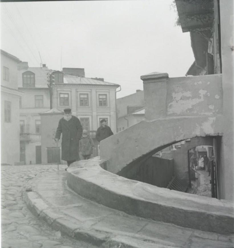 Вход в исторический дом раввина Гедалиягу (Годалии)