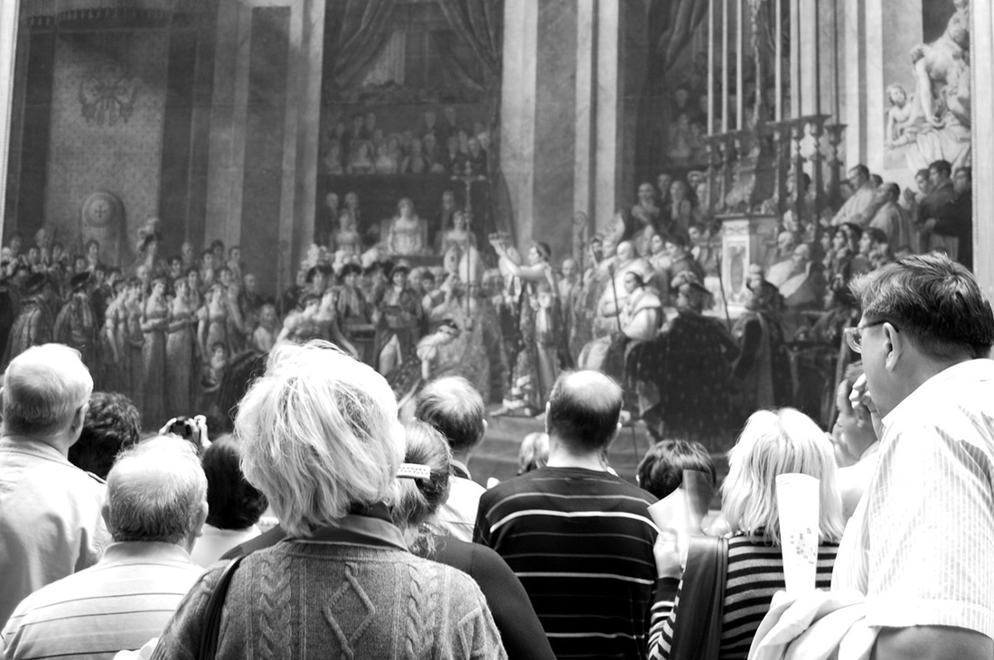 Лувр. Коронация Наполеона