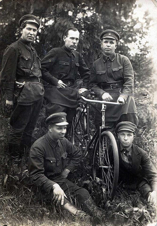 1934. Бершеть, военный лагерь 82-й стрелковой дивизии. 12.06.