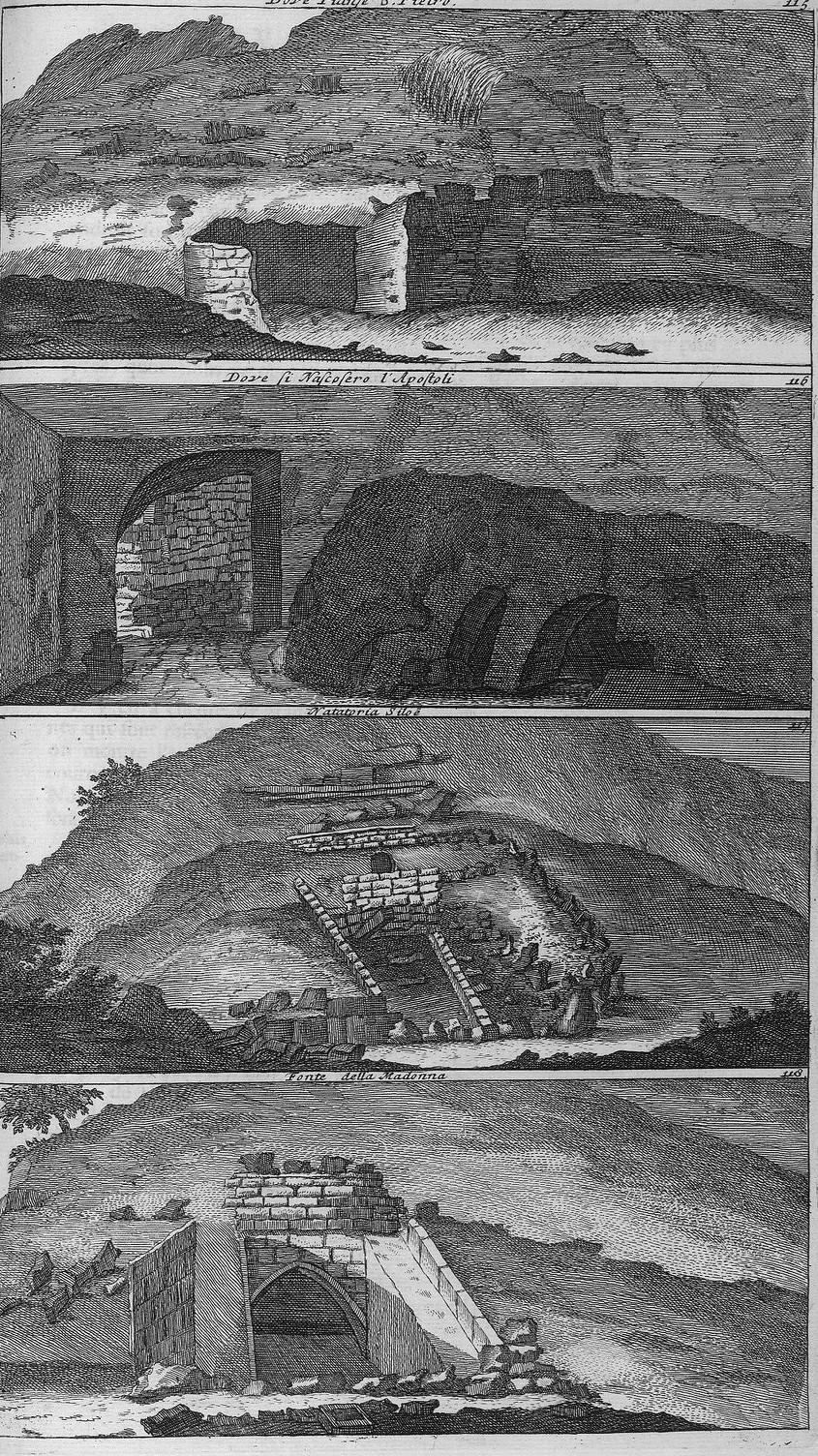 Путешествие из Рамы в Иерусалим. Виды святых мест Иерусалима