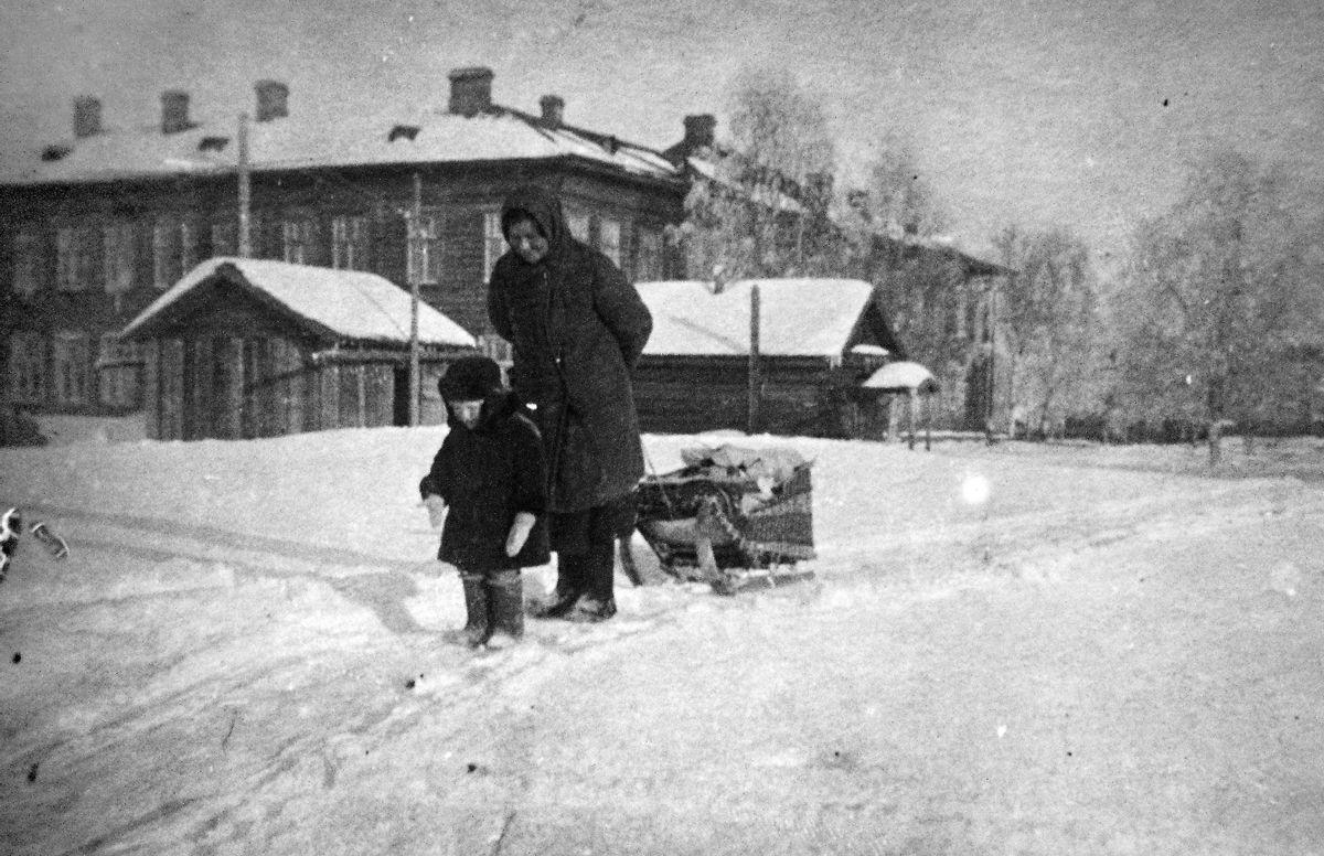 1950-е. Больничный городок