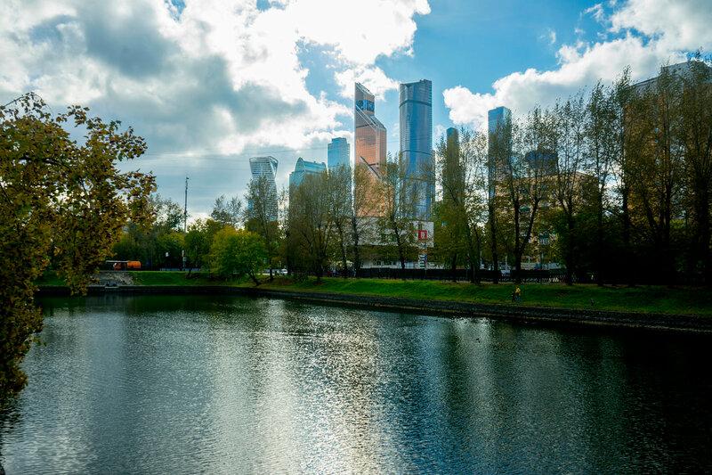 Вид на Сити