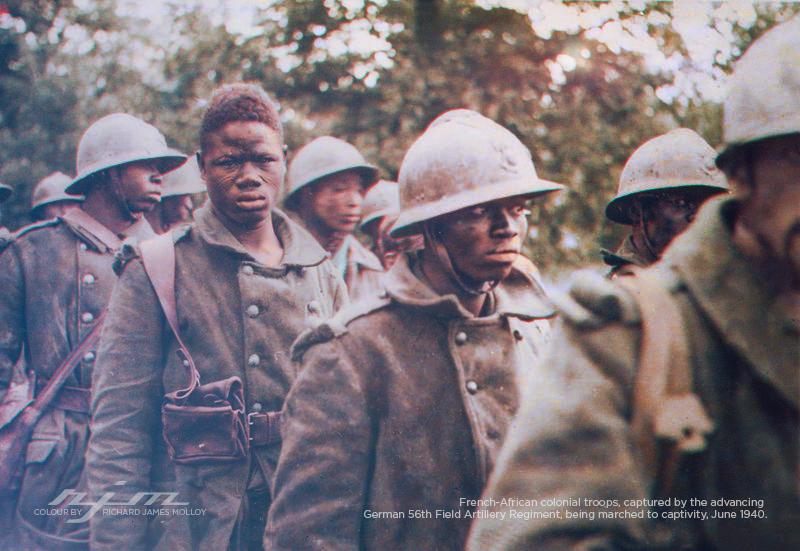 Как героически сражались французы 1940-45 г. ( 71 фото )