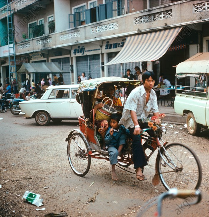 1977 год в цвете или каким был мир 40 лет назад  Блогер