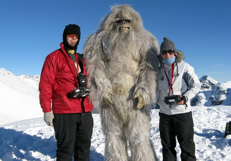 Интересные факты о снежном человеке