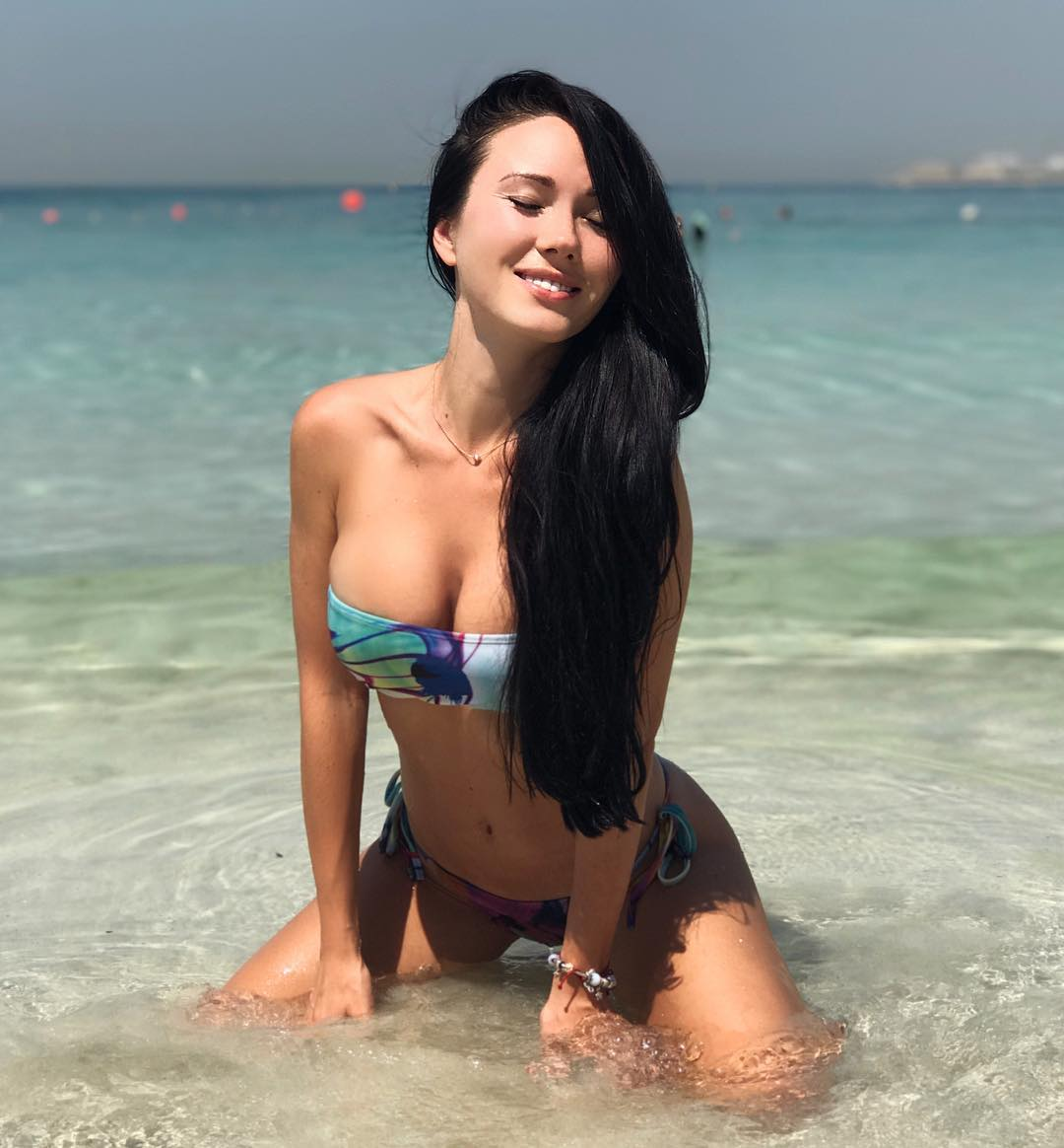 Нина Сереброва на снимках из Instagram