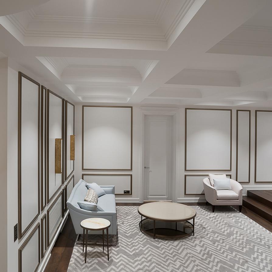 фотосъемка холла 2-го этажа дома