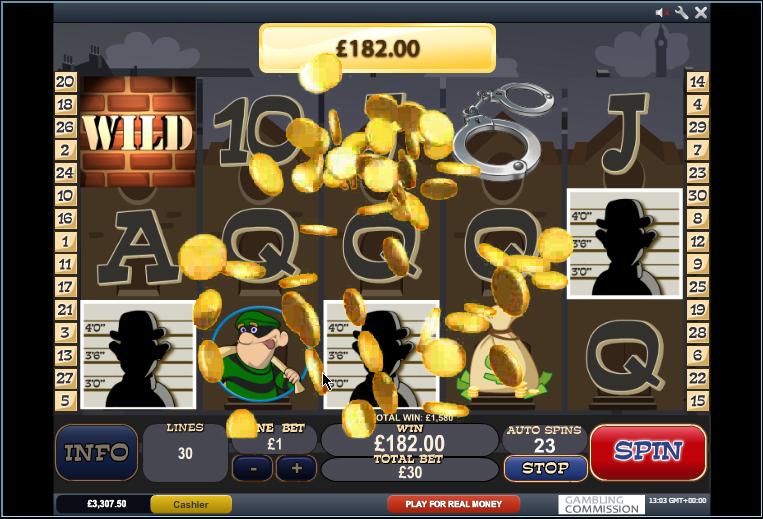 cops and bandits gold coins