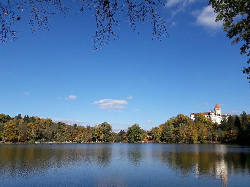 Путешествия: Золотая осень. Замок Конопиште.