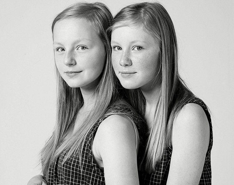 Удивительный проект «Мы не близнецы!» (12 фото)