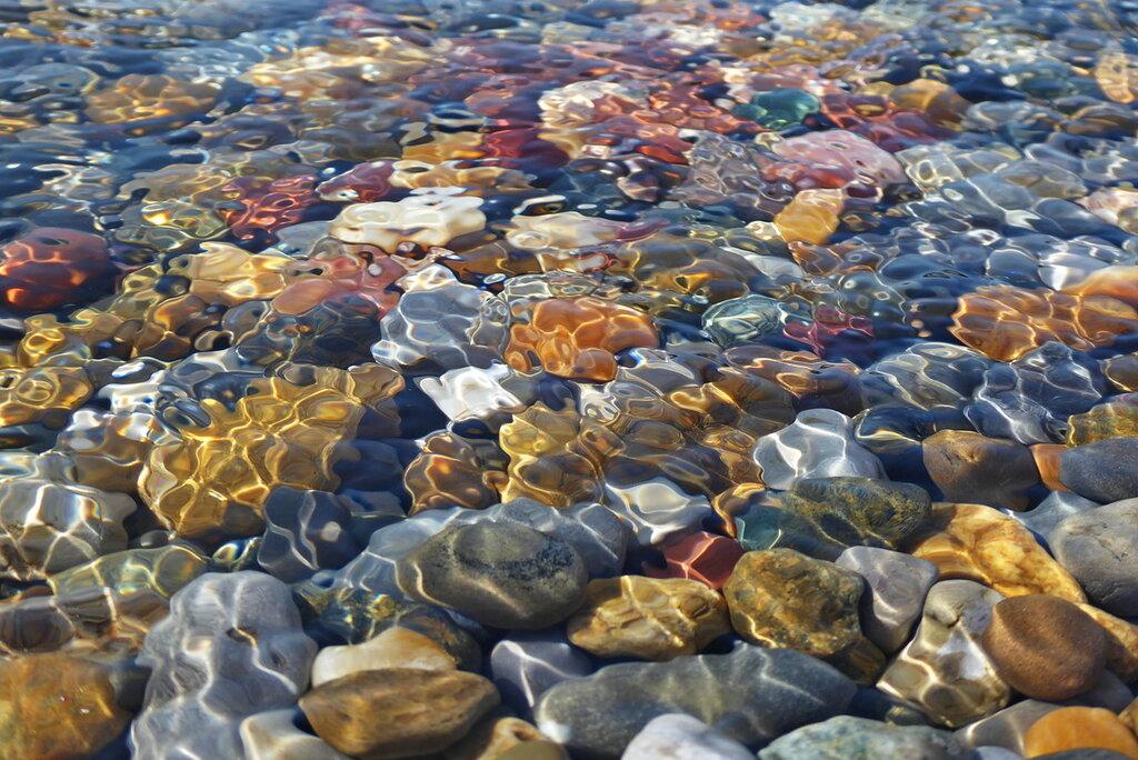 Краски и узоры моря