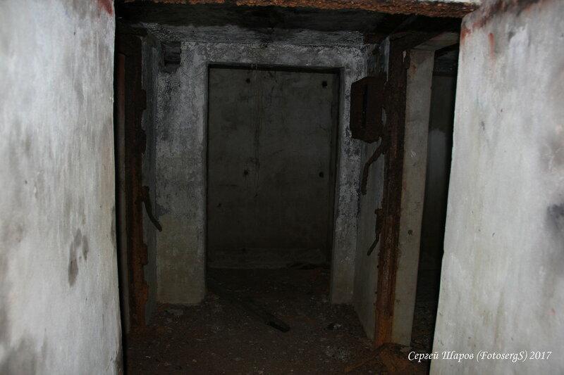 Вид внутрь от входа
