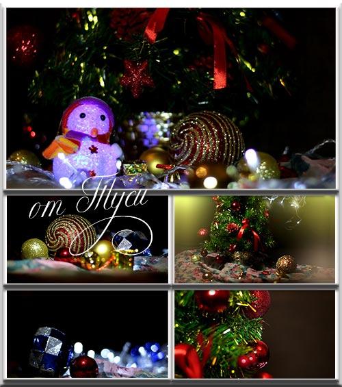 Новогодние футажи - 2 / Christmas Footage - 2