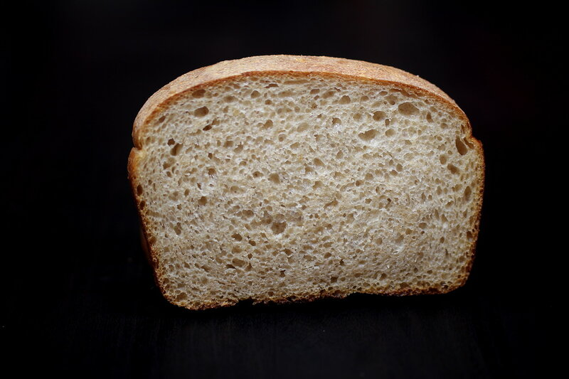 Пшеничный хлеб на молочно-кислой закваске методом «старого теста» (базовый рецепт)