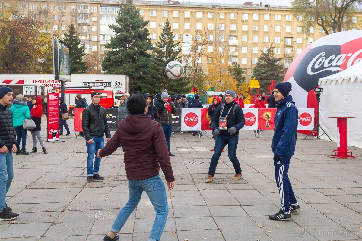 Тур кубка чемпионата мира по футболу в Саратове фото 9