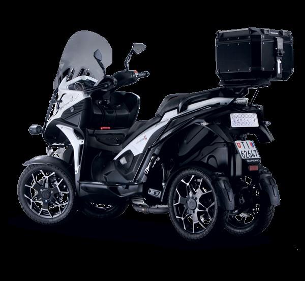 Скутер Quadro4 Steinbock 2018