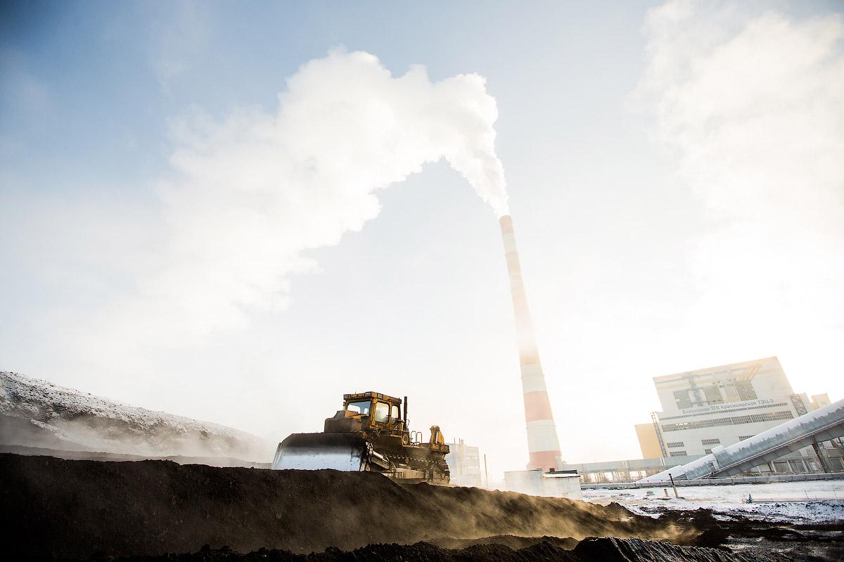Электричество из угля. Красноярская ТЭЦ-3