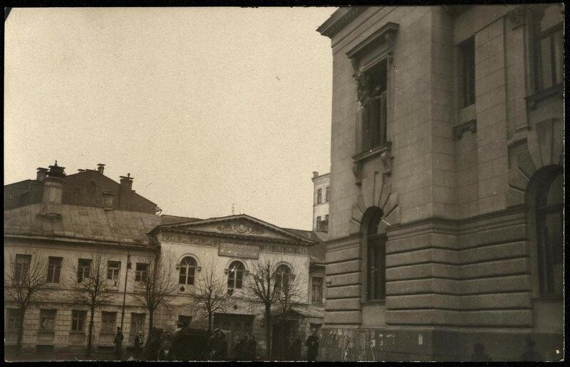 609203 Поварская улица. Вид из Скатертного переулка на д.27 и угол дома 42-1.jpg